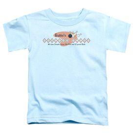Bubba's Bowling Alley Short Sleeve Toddler Tee Light Blue Md T-Shirt