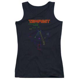 Atari Tempest Screen Juniors Tank Top