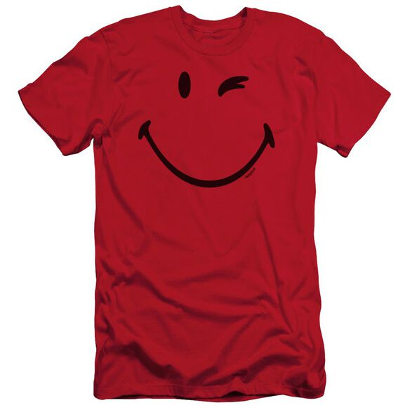 Smiley World Big Wink Short Sleeve Adult T-Shirt