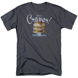 White Castle Craver Short Sleeve Adult T-Shirt