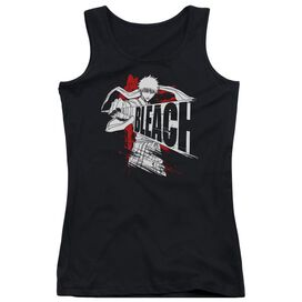 Bleach Sword Drawn Juniors Tank Top