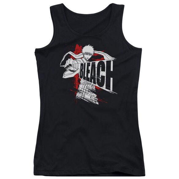 Bleach Sword Drawn Juniors Tank Top