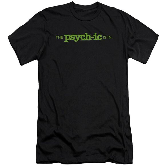 Psych The Psychic Is In Short Sleeve Adult T-Shirt
