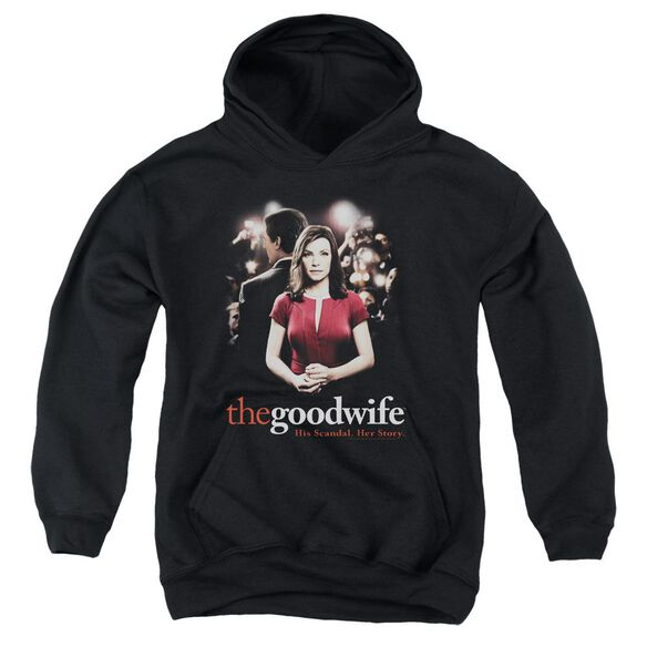 The Good Wife Bad Press Youth Pull Over Hoodie