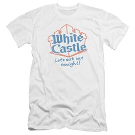 White Castle Lets Eat-premuim Canvas Adult Slim
