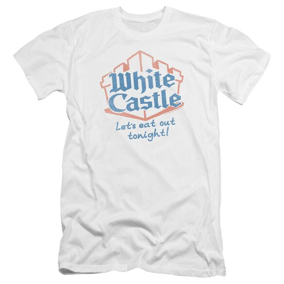 Castle Lets Eat Premuim Canvas Adult Slim Fit