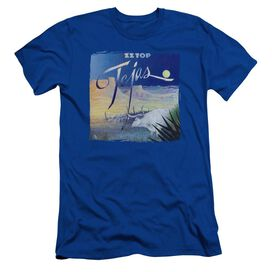 Zz Top Tejas Short Sleeve Adult Royal T-Shirt