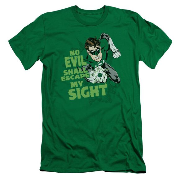 Lantern No Evil Short Sleeve Adult Kelly T-Shirt