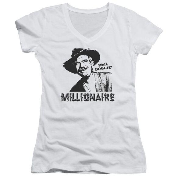 Beverly Hillbillies Millionaire Junior V Neck T-Shirt
