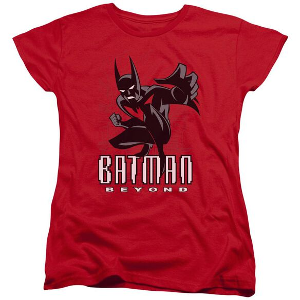Batman Beyond Engage Short Sleeve Womens Tee T-Shirt