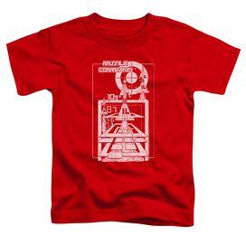 Atari Lift Off Short Sleeve Toddler Tee Red T-Shirt