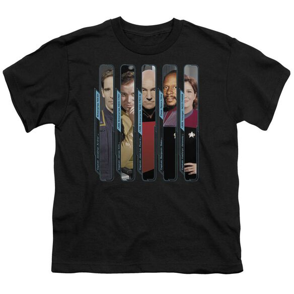 Star Trek The Captains Short Sleeve Youth T-Shirt