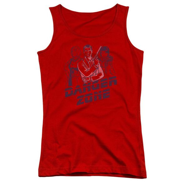 Archer Danger Zone Juniors Tank Top
