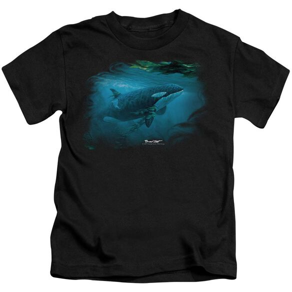 Wildlife Pursuit Thru The Kelp Orca Short Sleeve Juvenile T-Shirt