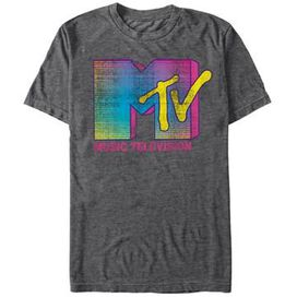 MTV Fluorescent Logo T-Shirt