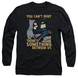 Batman The Animated Series Between Us Long Sleeve Adult T-Shirt