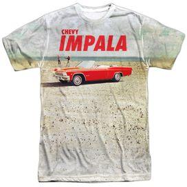 Chevrolet Beach Impala Short Sleeve Adult Poly Crew T-Shirt