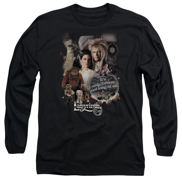 Labyrinth 25 Years Of Magic Long Sleeve Adult T-Shirt