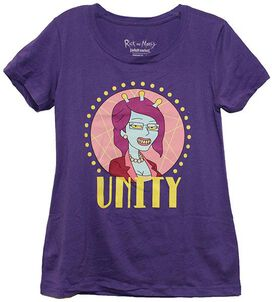 Rick & Morty Unity Juniors T-Shirt