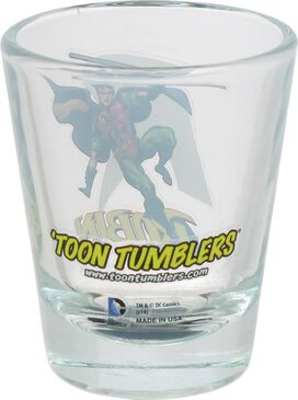 Robin Mini Toon Tumbler Shot Glass