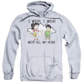 Dragon Tales I Wish With All My Heart Adult Pull Over Hoodie Athletic