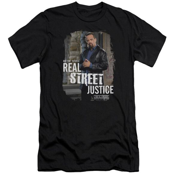 Law And Order Svu Street Justice Premuim Canvas Adult Slim Fit