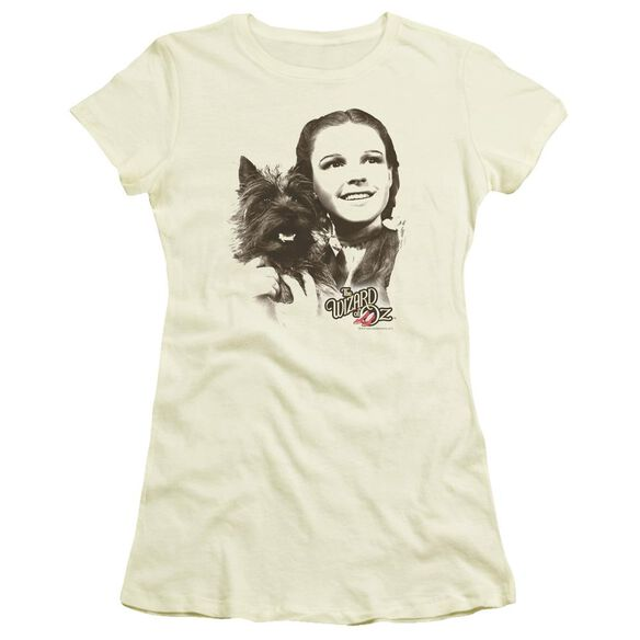 Wizard Of Oz Dorothy & Toto Short Sleeve Junior Sheer T-Shirt