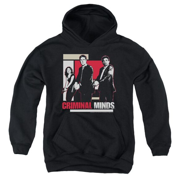 Criminal Minds Guns Drawn Youth Pull Over Hoodie