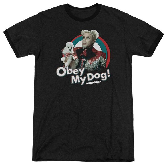 Zoolander Obey My Dog Adult Heather Ringer