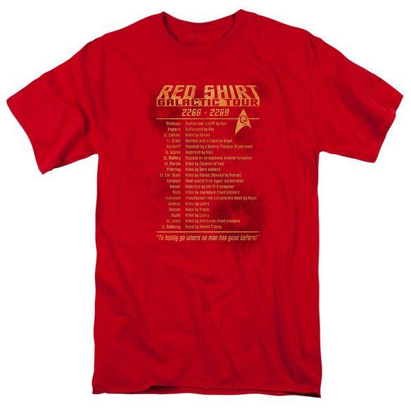 Star Trek Shirt Tour Short Sleeve Adult T-Shirt