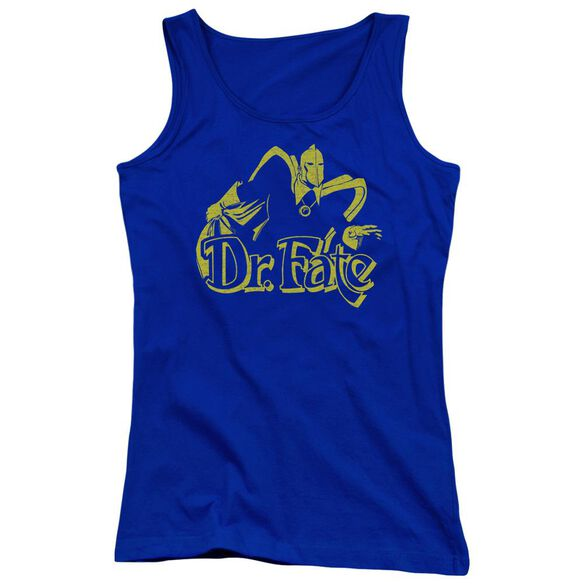 Dco One Color Fate Juniors Tank Top Royal