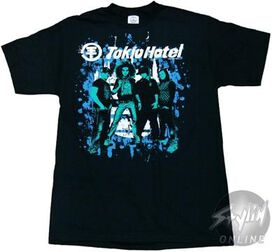 Tokio Hotel Monotone T-Shirt