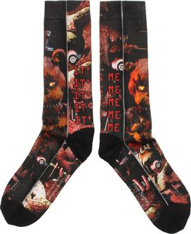 Five Nights at Freddy's It's Me Dye Sub Crew Socks