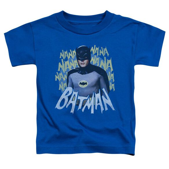 Batman Classic Tv Theme Song Short Sleeve Toddler Tee Royal Blue Md T-Shirt