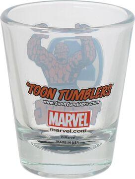 Fantastic Four Thing Mini Toon Tumbler Shot Glass