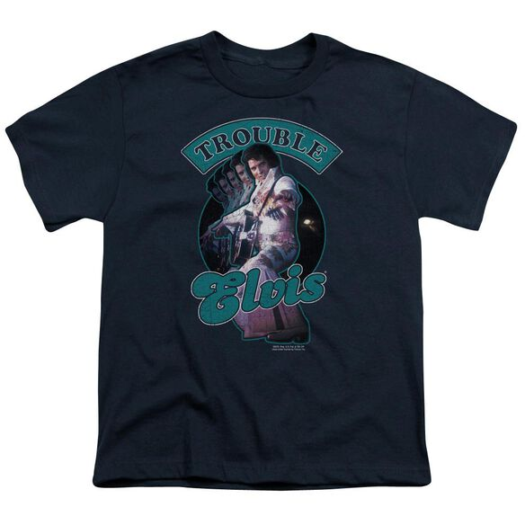 Elvis Total Trouble Short Sleeve Youth T-Shirt