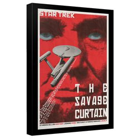 Star Trek Tos Episode 77 Canvas Wall Art With Back Board