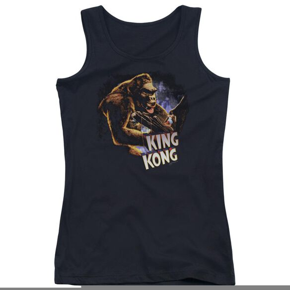 King Kong Kong And Ann Juniors Tank Top