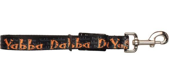 Flintstones Fred Yabba Dabba Doo Black Pet Leash