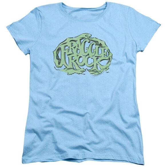 Fraggle Rock Vace Logo Short Sleeve Womens Tee Light T-Shirt