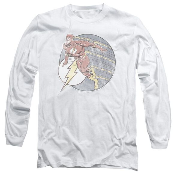 Dco Retro Flash Iron On Long Sleeve Adult T-Shirt