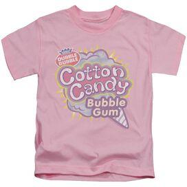 DUBBLE BUBBLE COTTON CANDY - S/S JUVENILE 18/1 - PINK - T-Shirt