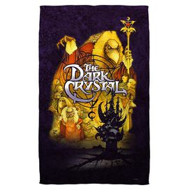 Dark Crystal Poster Beach Towel