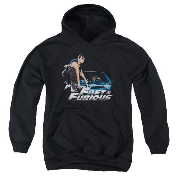 Fast And The Furious Car Ride Youth Pull Over Hoodie