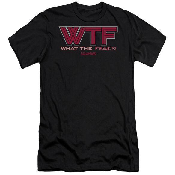 BSG WTF - S/S ADULT 30/1 - BLACK T-Shirt