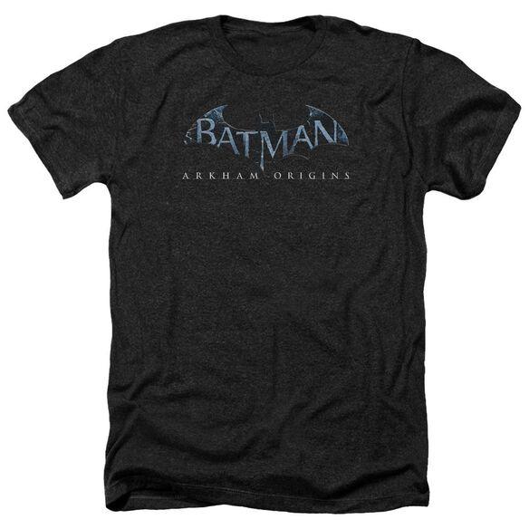 Batman Arkham Origins Logo Adult Heather