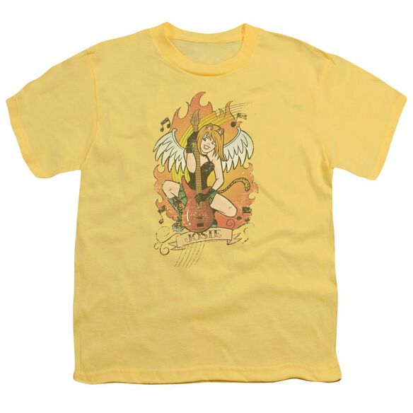 Archie Comics Josie Tattoo Short Sleeve Youth T-Shirt