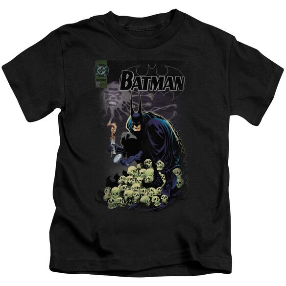 Batman Cover #516 Short Sleeve Juvenile Black T-Shirt