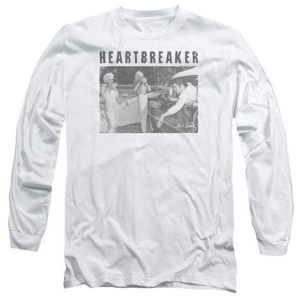 Elvis Presley Heartbreaker Long Sleeve Adult T-Shirt