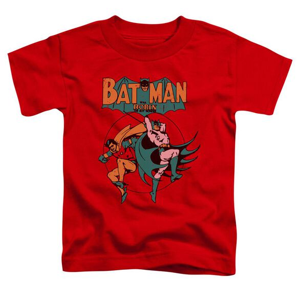 Dc Starling Shock Short Sleeve Toddler Tee Red T-Shirt